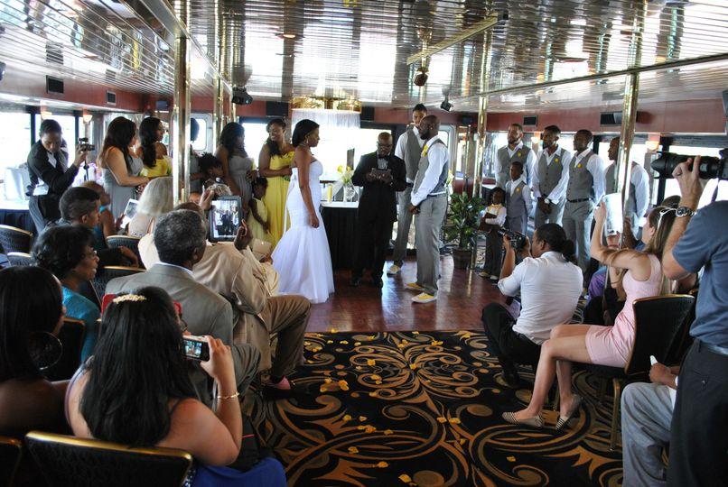 Tampa dinner cruise wedding