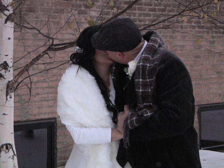 Tmx Whitecouplekissoutside 51 984813 Fargo, ND wedding videography