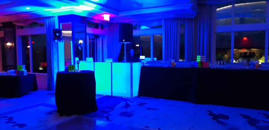 Event Booth and Lighting