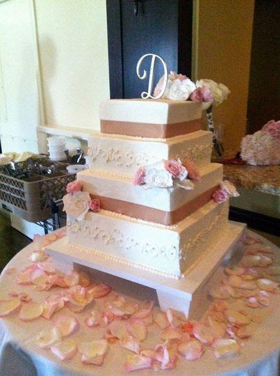 Cakeology Wedding Cake Boston MA WeddingWire
