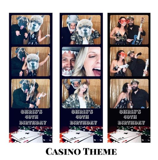 Casino themed template