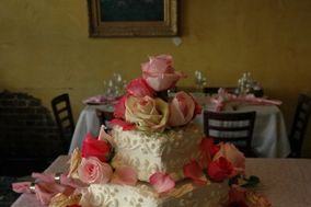 Potpourri of Silk Flowers and Cakes