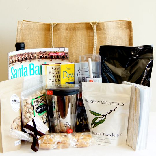 Santa Barbara Wedding Welcome Gift