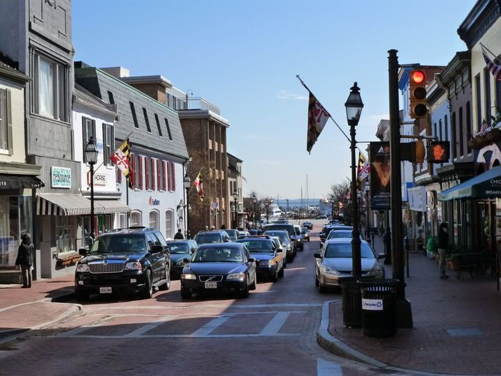 Main Street in Annapolis!  We can show you where the locals go!