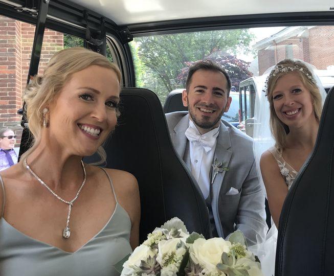 Going for wedding photos!