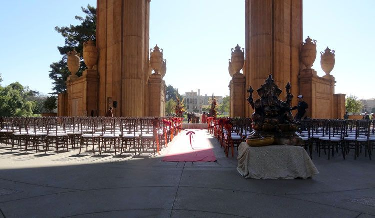 Palace of Fine Arts Rotunda Wedding