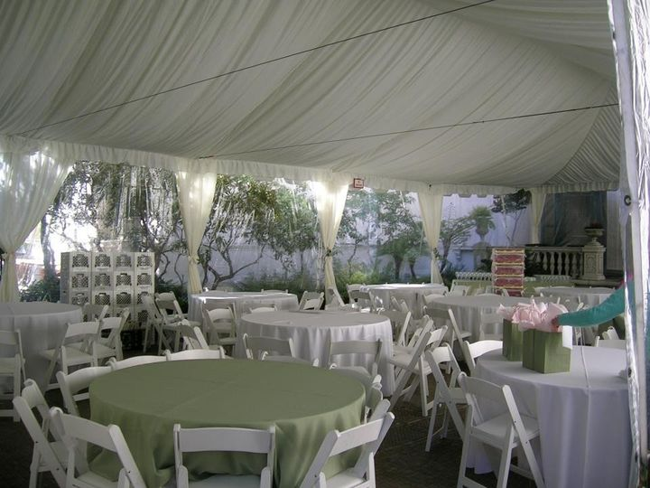 Outdoor Tented Reception