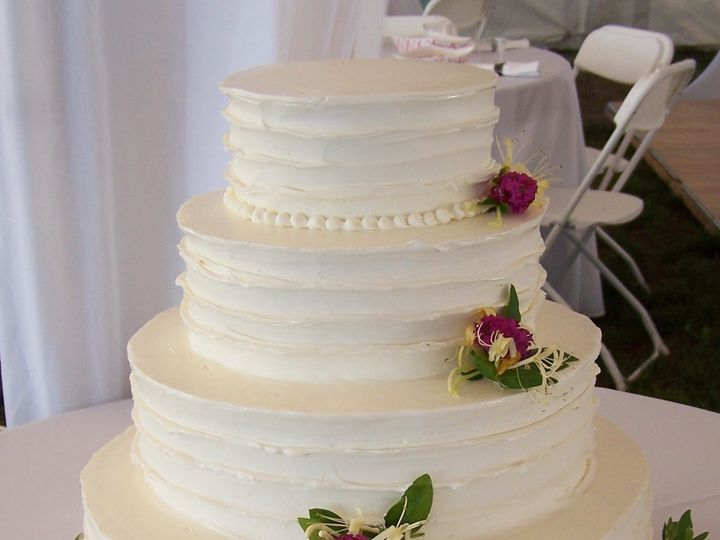 Tmx 1468168327070 Rustic Ruffle Holden Inn Wellfleet wedding cake