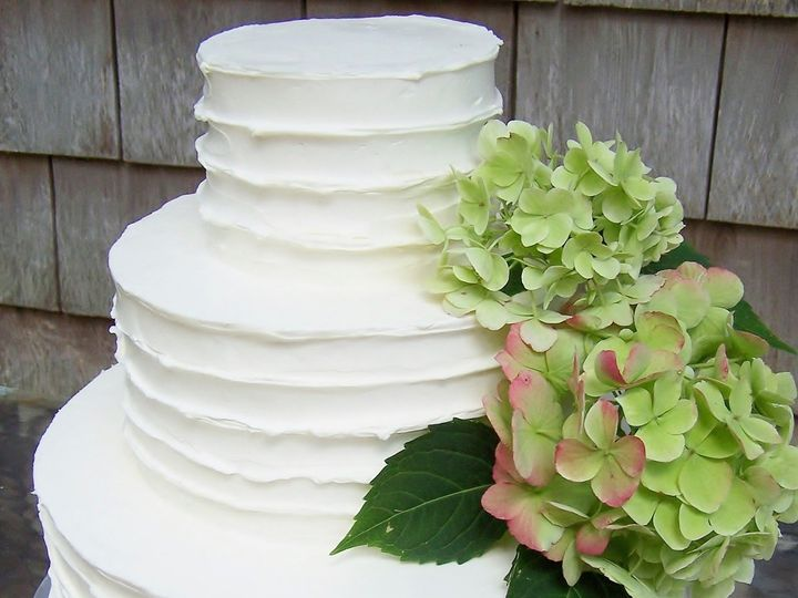 Tmx 1468168790535 Ruffled Side Jill Dave 2 Wellfleet wedding cake