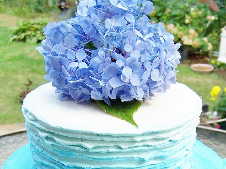 Tmx 1525355944 E122d1ebdc5f6757 1525355942 E7c5373bdd7ed335 1525355946310 5 Blue Ombre 2 Wellfleet wedding cake