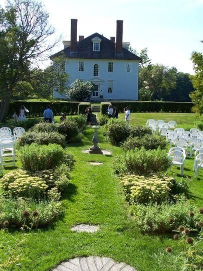 Exterior view of Hamilton House Gardens