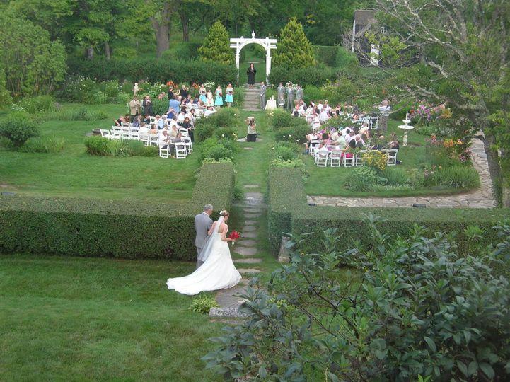 Bride's procession