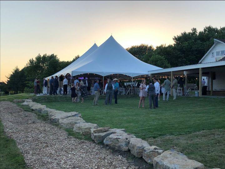 Tmx Social Distancing Tent 51 1024913 159580022691739 Kansas City, MO wedding venue