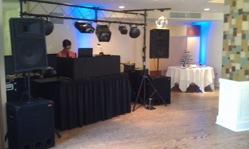 picture of setup at hotel parq central
