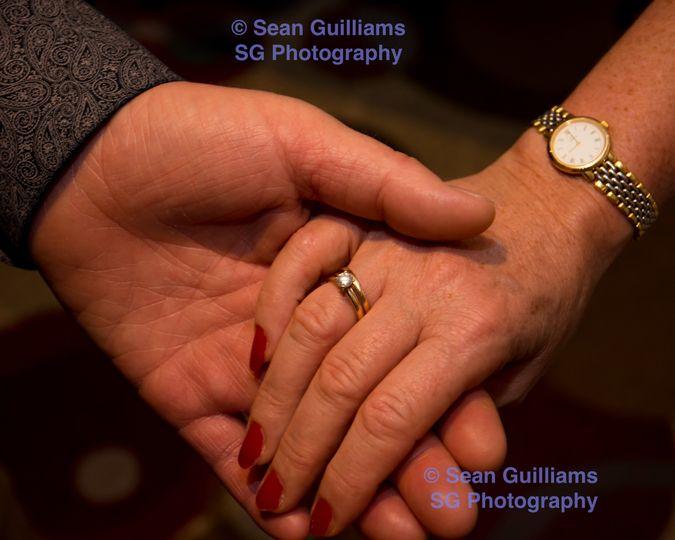 Hand Touching Hand