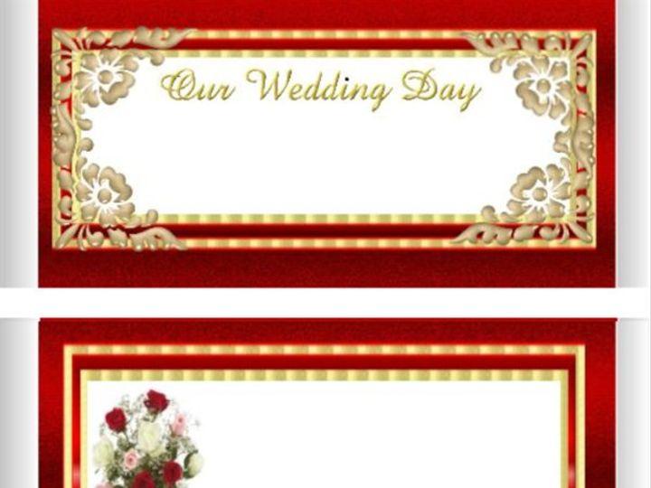 Tmx 1273759810719 RedGoldWeddingDay600 Tewksbury wedding favor