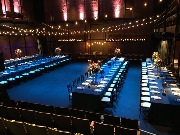 Reception in the theater