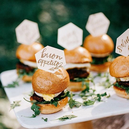 Sunrise brunch sliders