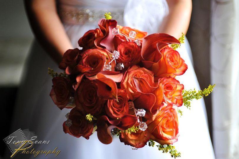Flurry of fall bouquet