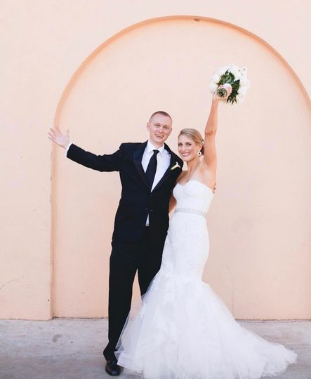 Wedding day in Houston