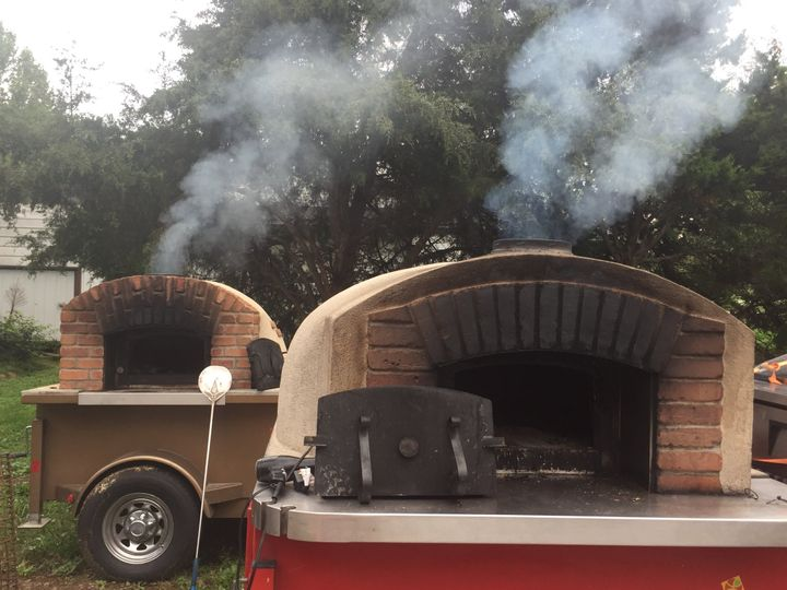 Two mobile ovens