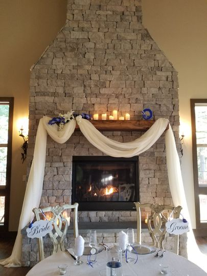 Chateau Fireplace
