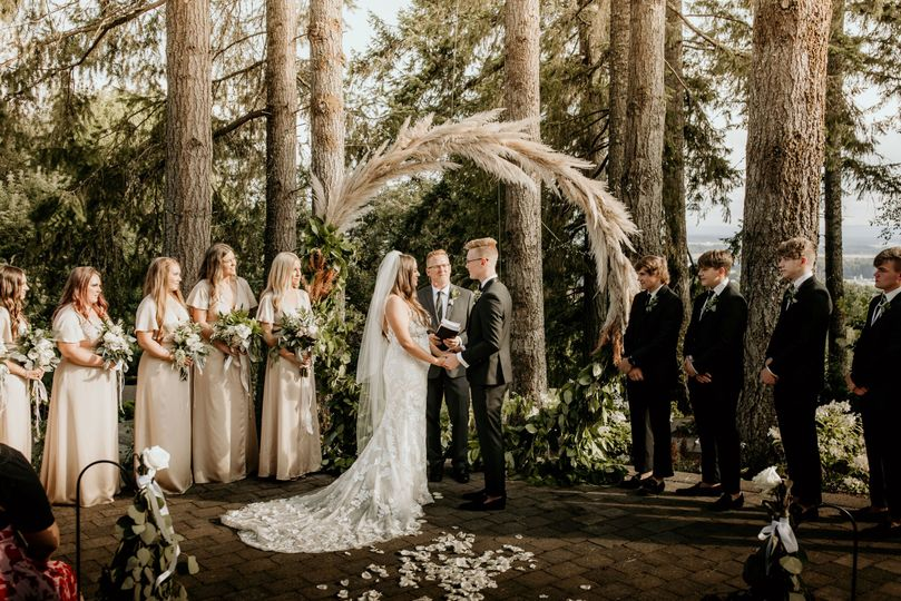 Ceremony at The Forest Terrace