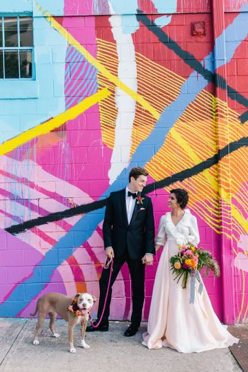 Our venue is known for its presence in westside because of our large photoshoot ready mural!