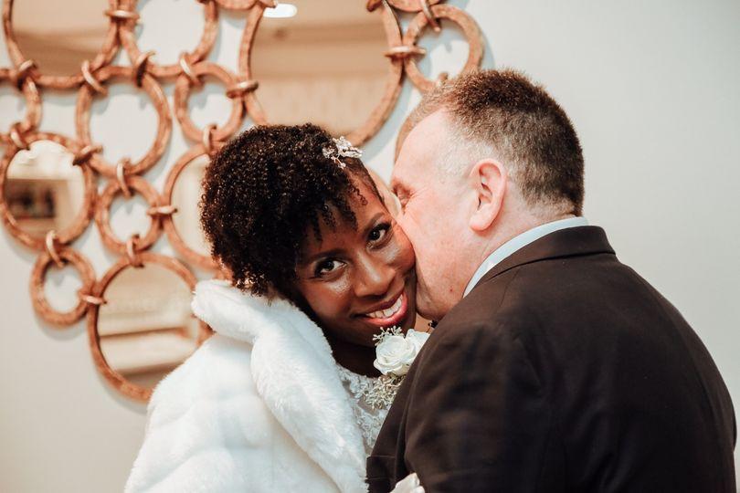 Newlyweds - October Dusk Photography