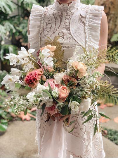 Garden Style Spring Bouquet