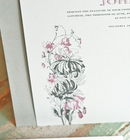 The Adonis Wedding Invitation Suite