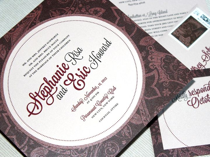 Tmx 1357749656074 SchwartzMaltz28CC New City wedding invitation