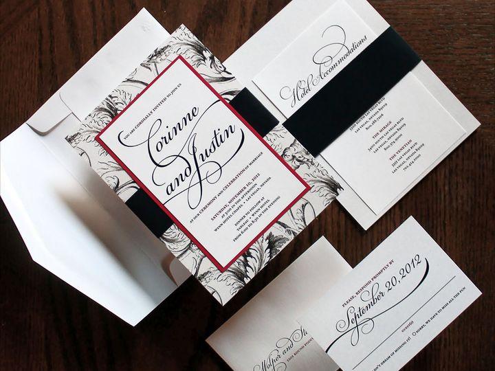 Tmx 1357749670834 WolperStern3CC New City wedding invitation