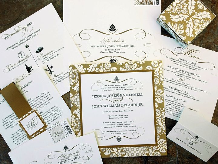 Tmx 1369520289850 Jj553cc New City wedding invitation