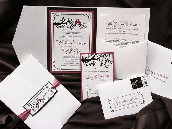 Tmx 1369520302956 Loneckeinviteimg8272 New City wedding invitation
