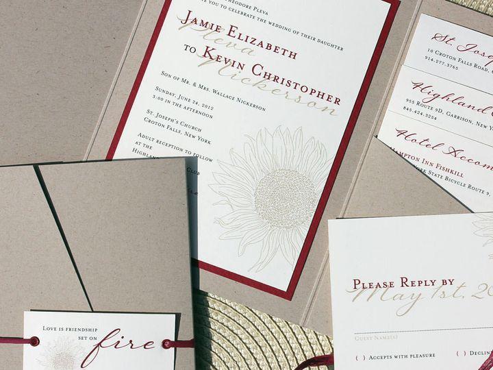 Tmx 1369520510663 Img3538croppedcc New City wedding invitation