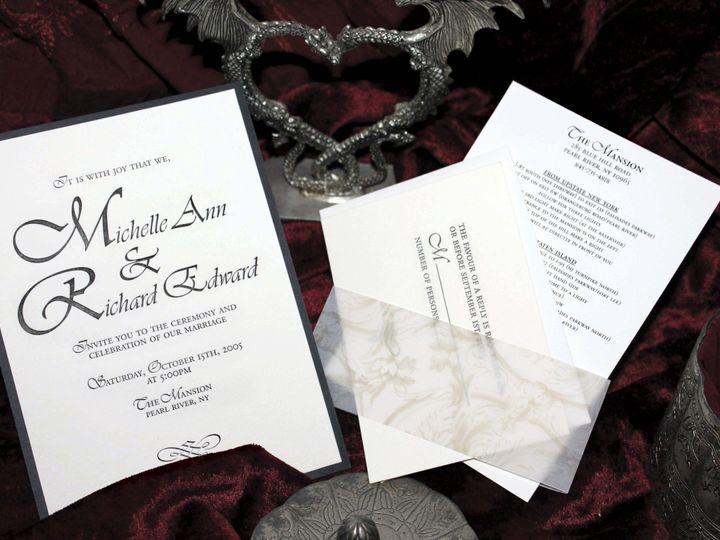 Tmx 1369520562321 Mr1994ccrgb New City wedding invitation