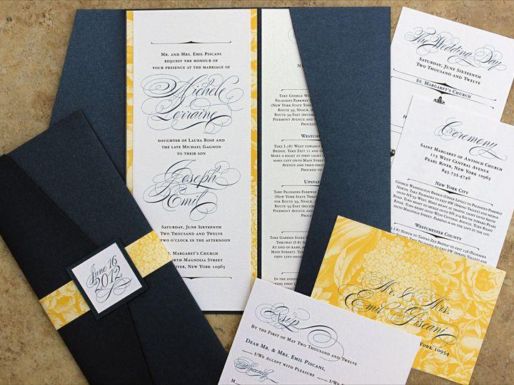 Tmx 1369520581445 Michele S1 2cc New City wedding invitation