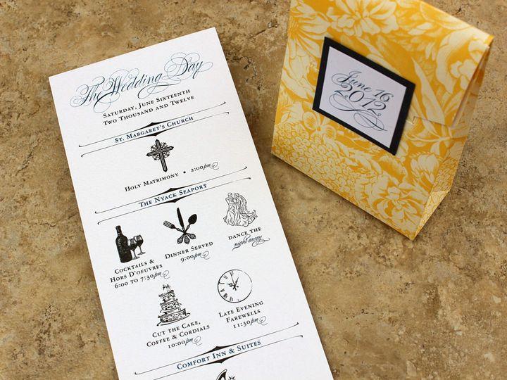 Tmx 1369520588853 Michele S1 10cc New City wedding invitation