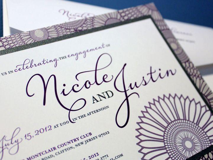 Tmx 1369520595357 Njenginvite5909cc New City wedding invitation