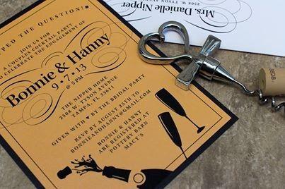 Tmx 1421885281703 Bonnie  Hanny Engagement Invitation New City wedding invitation