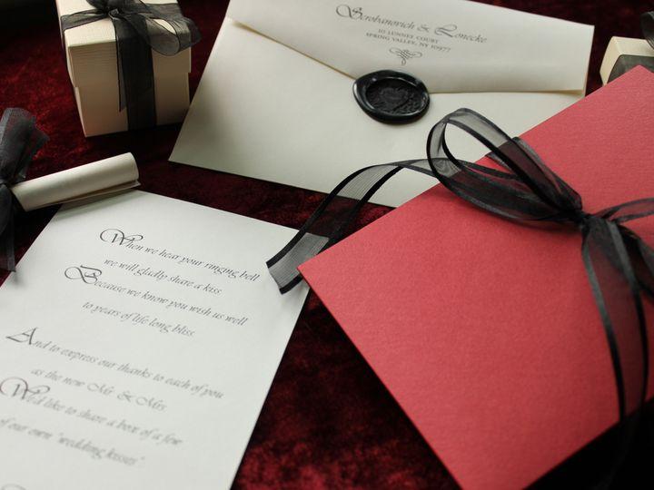 Tmx 1421886416515 Michelle  Richard New City wedding invitation
