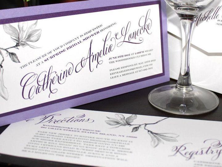 Tmx 1421886452939 Catherine Amelia Shower Invite New City wedding invitation