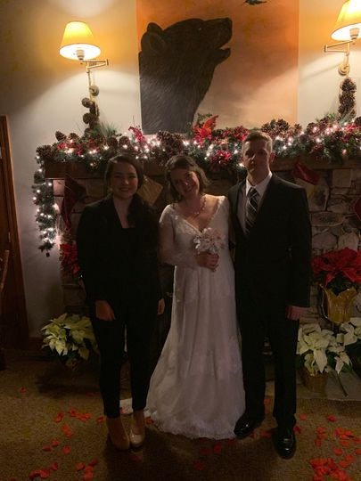 New year's eve wedding