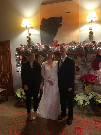 Scott and Shannon's wedding
