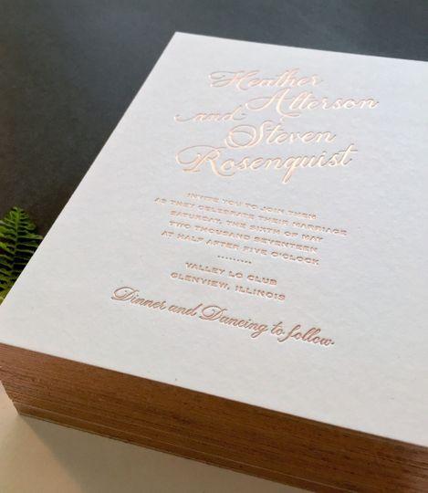 quintessence papers invitations northbrook il weddingwire