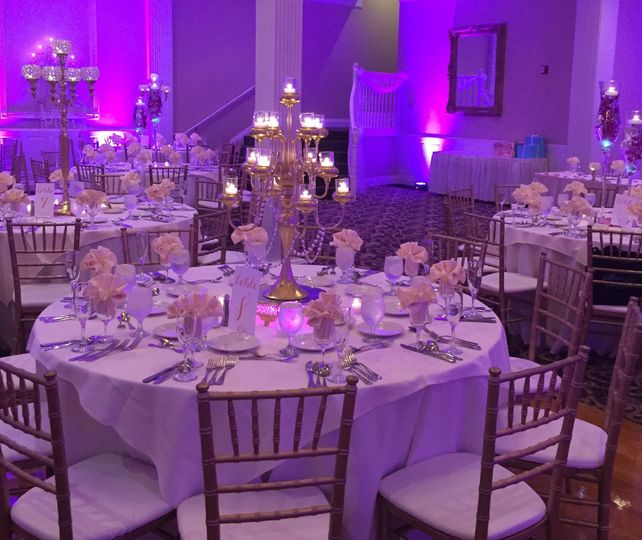 reception candelabra decor candles centerpieces ta