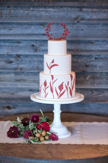 Lael Cakes Wedding Cake Brooklyn NY WeddingWire