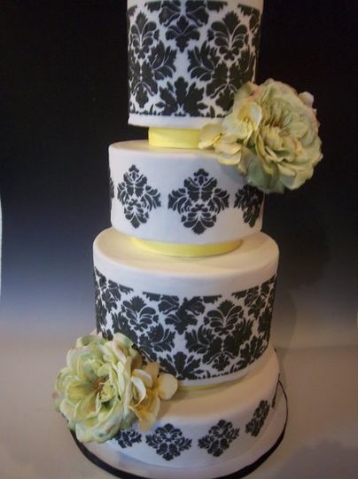 frosted art wedding cake missouri st louis columbia jefferson
