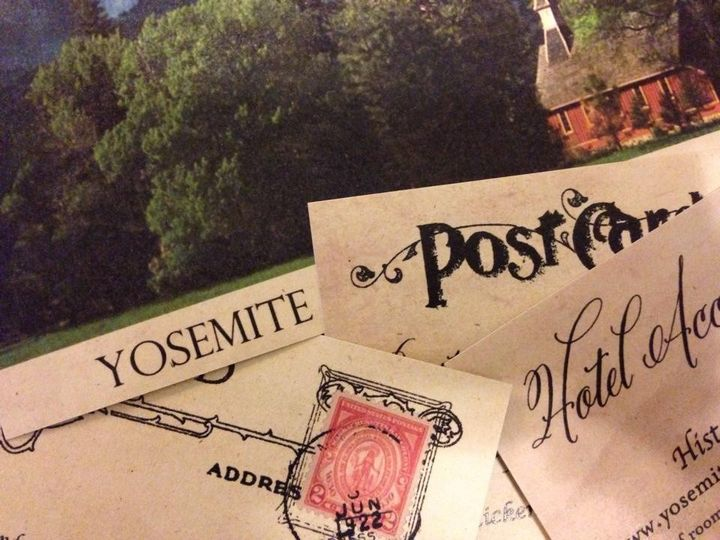 Vintage Postcard Style